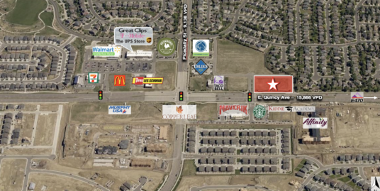 21925 E. Quincy Ave (NEQ of E. Quincy & S. Picadilly Rd), Aurora, CO 80018